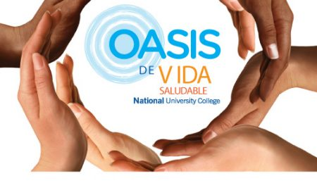 National University College reactiva los Oasis de Vida Saludable